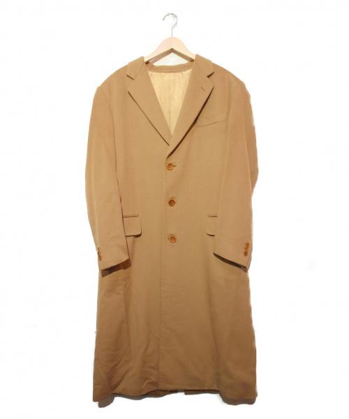ARMANI COLLEZIONI(アルマーニコレツォーニ)ARMANI COLLEZIONI (アルマーニコレツォーニ) カシミヤロングチェスターコート ベージュ サイズ:50 CD70AOの古着・服飾アイテム