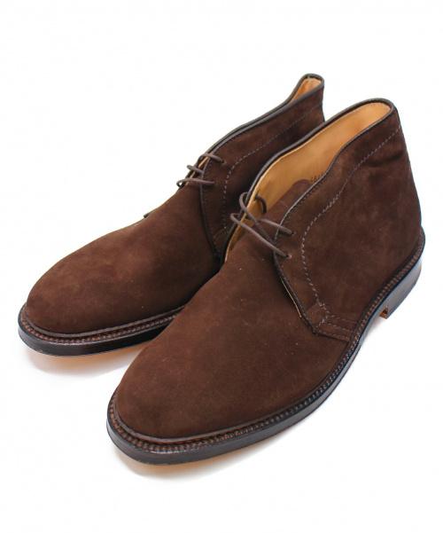 ALDEN(オールデン)ALDEN (オールデン) チャッカーブーツ ブラウン サイズ:8 1311の古着・服飾アイテム