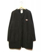DANTON(ダントン)の古着「フリースジャケット」|ブラック