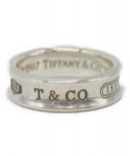 Tiffany & Co.(ティファニー)の古着「1837ナローリング」|シルバー