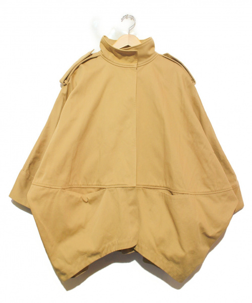 ACNE STUDIOS(アクネステュディオズ)ACNE STUDIOS (アクネステュディオズ) ショートトレンチポンチョ ベージュ サイズ:32  EZRA SHORT PAW14の古着・服飾アイテム