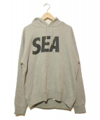 WIND AND SEA(ウィンダンシー)の古着「パーカー」|グレー