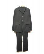 DESCENTE(デサント)の古着「セットアップ」 ブラック