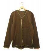 Denham(デンハム)の古着「ウールライナーシャツジャケット」|カーキ