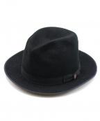 STETSON(ステットソン)の古着「フェドラハット」|ブラック