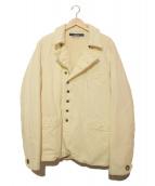 KAPITAL(キャピタル)の古着「リネン中綿ジャケット」|ホワイト