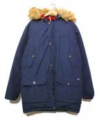 WOOLRICH(ウールリッチ)の古着「フーデットダウンジャケット」 ネイビー
