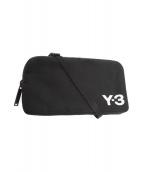 Y-3(ワイスリー)の古着「カラビナポーチ」|ブラック