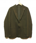 SOPHNET.()の古着「ウォッシュドコットン2Bテーラードジャケット」 オリーブ