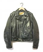 Schott()の古着「ライダースジャケット」|ブラック