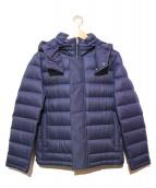ck Calvin Klein(シーケーカルバンクライン)の古着「NANODESIGN 2WAYショートダウンジャケット」|ネイビー