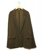 LAppartement(アパルトモン)の古着「リラックスロングジャケット」 オリーブ