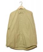 AURALEE(オーラリー)の古着「L/Sシャツ」 ベージュ