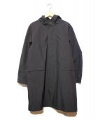 THE NORTH FACE(ザノースフェイス)の古着「ボールドフーデットコート」|ブラック