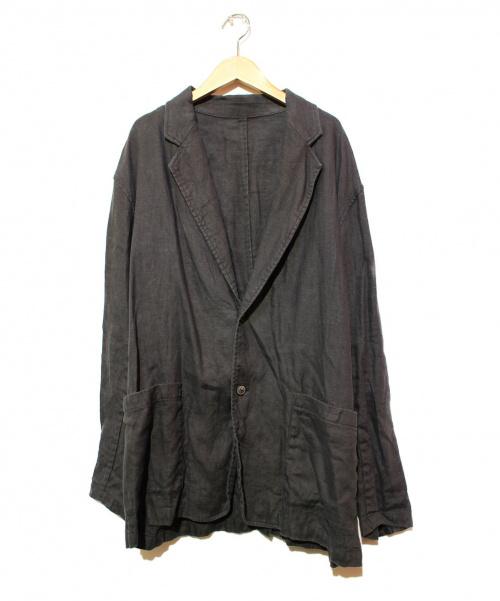 STEVEN ALAN×221 VILLAGE(スティーブンアラン×ニーニーイチヴィレッジ)STEVEN ALAN×221 VILLAGE (スティーブンアラン×ニーニーイチヴィレッジ) リネンテーラードジャケット ブラック サイズ:3の古着・服飾アイテム