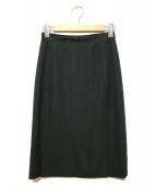 CELINE(セリーヌ)の古着「ヴィンテージウールスカート」 ブラック