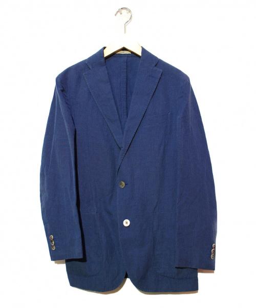 BOGLIOLI(ボリオリ)BOGLIOLI (ボリオリ) コットンリネンテーラードジャケット ネイビー サイズ:44 T2902E DOVERの古着・服飾アイテム