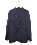 BOGLIOLI(ボリオリ)の古着「コットンテーラードジャケット」|ネイビー