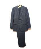 N.HOOLYWOOD()の古着「リネンセットアップスーツ」 ネイビー