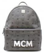 MCM()の古着「ロゴグラムバックパック」|グレー