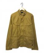 G-STAR RAW(ジースターロゥ)の古着「ミリタリージャケット」 ブラウン