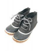 ()の古着「ショートブーツ」 ブラック