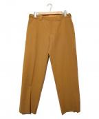 UNFIL(アンフィル)の古着「ドローストリングトラウザー」|キャメル