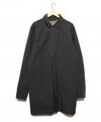 ARCTERYX(アークテリクス)の古着「袖ロゴ付きケッペルトレンチコート」|ブラック