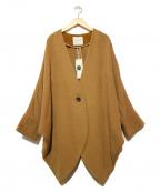 LAGUNA MOON(ラグナムーン)の古着「ドレープドルマンコート」|ブラウン