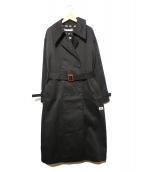 LITTLE SUNNY BITE × DICKIES(リトルサニーバイト×ディッキーズ)の古着「ボンバートレンチコート」|ブラック
