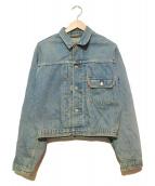 LEVIS(リーバイス)の古着「1stデニムジャケット」|ライトインディゴ