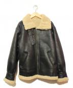 Ungrid(アングリッド)の古着「B-3タイプジャケット」 ブラック