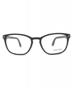 TOM FORD(トム フォード)の古着「セルフフレーム伊達眼鏡」|ブラック