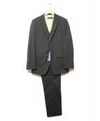 TK MIXPICE(タケオキクチ ミクスパイス)の古着「3ピースセットアップスーツ」|ブラック