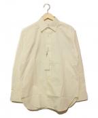 ck Calvin Klein(シーケーカルバンクライン)の古着「バックプリントシャツ」|ホワイト