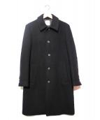 UNITED TOKYO(ユナイテッドトウキョウ)の古着「ウールステンカラーコート」|ブラック