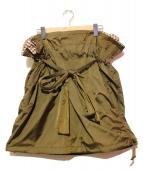 tricot COMME des GARCONS(トリココムデギャルソン)の古着「スカート」|オリーブ