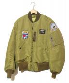 BUZZ RICKSONS(バズリクソンズ)の古着「B-15C(MOD.) フライトジャケット」 オリーブ