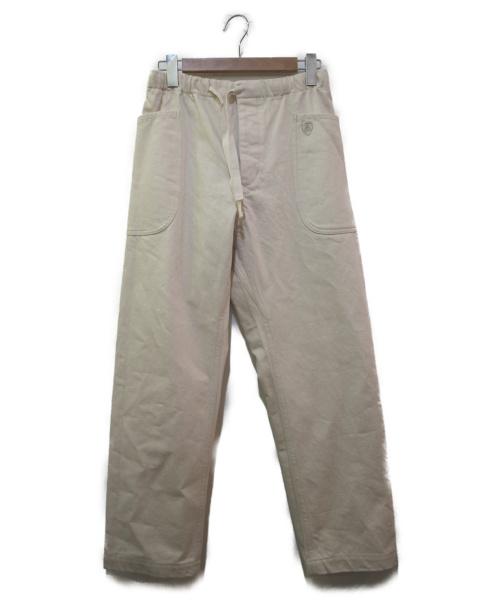 ORCIVAL(オーシバル)ORCIVAL (オーシバル) オックスパンツ エクリュ サイズ:1 未使用品 21S-WS001の古着・服飾アイテム