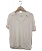 HERMES(エルメス)の古着「S/Sスキッパーニット」|ホワイト