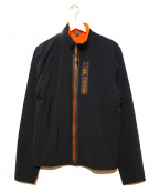 JAMES PERSE(ジェームスパース)の古着「YOSEMITEウィンドブレーカー」 ブラック×オレンジ