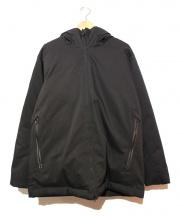 BEAMS(ビームス)の古着「テックスタンダードダウンジャケット」|ブラック
