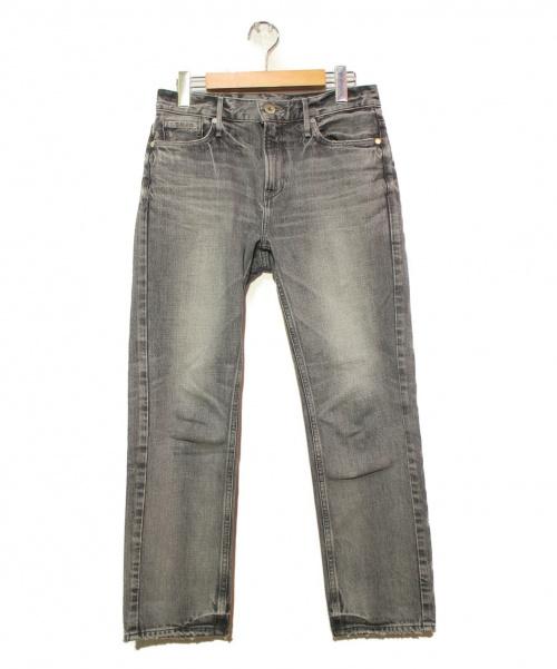 upper hights(アッパーハイツ)upper hights (アッパーハイツ) デニムパンツ グレー サイズ:W23 THE LIPSTICKの古着・服飾アイテム