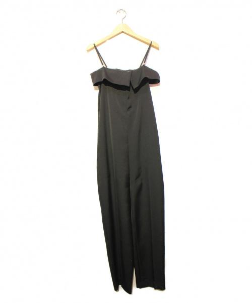 AP STUDIO(エーピーストゥディオ)AP STUDIO (エーピーストゥディオ) オールインワン ブラック サイズ:36の古着・服飾アイテム