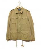 R.H.Vintage(ロンハーマン ヴィンテージ)の古着「ヴィンテージ加工M65ジャケット」 オリーブ