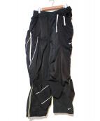 NikeLab(ナイキラボ)の古着「再構築ナイロンパンツ」 ブラック