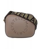 STELLA McCARTNEY(ステラマッカートニー)の古着「ロゴ カメラ バッグ」 ピンクベージュ