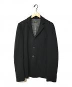 agnes b homme(アニエスベーオム)の古着「ボンディング3Bジャケット」 ブラック