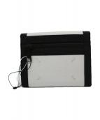Maison Margiela(メゾンマルジェラ)の古着「4つタグ2つ折り財布」 ホワイト×ブラック