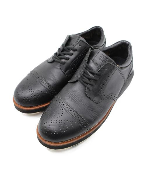 VISVIM(ビズビム)VISVIM (ビズビム) ストレートチップシューズ ブラック サイズ:US8の古着・服飾アイテム
